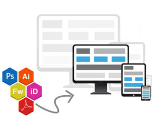 indesign to responsive html