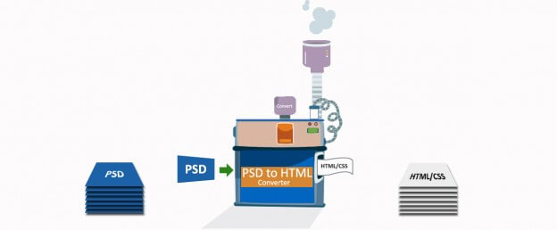 Demerits of Free PSD to HTML Converters Online